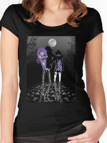 Night walks Women's Fitted Scoop T-Shirt