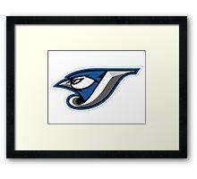 TORONTO BLUE JAYS LOGO Framed Print