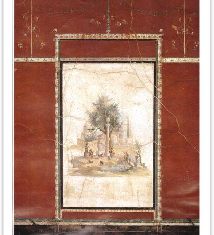 Souvenir from Naples - Boscotrecase's fresco Sticker