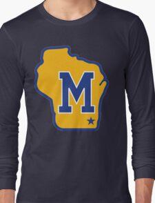 MILWAUKEE BREWERS LOGO Long Sleeve T-Shirt