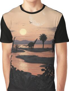 Jurassic Beach Graphic T-Shirt