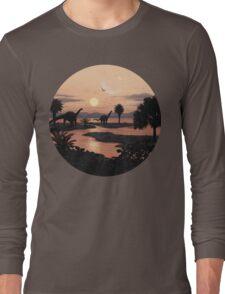 Jurassic Beach Long Sleeve T-Shirt