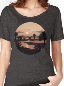 Jurassic Beach Women's Relaxed Fit T-Shirt