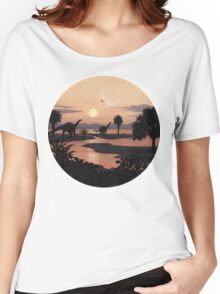 Jurassic Beach Women's Relaxed Fit T-Shirt