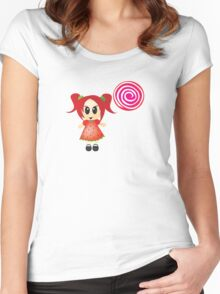 sweet like candy Women's Fitted Scoop T-Shirt