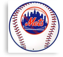 NEW YORK METS IN BALL Canvas Print