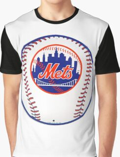 NEW YORK METS IN BALL Graphic T-Shirt