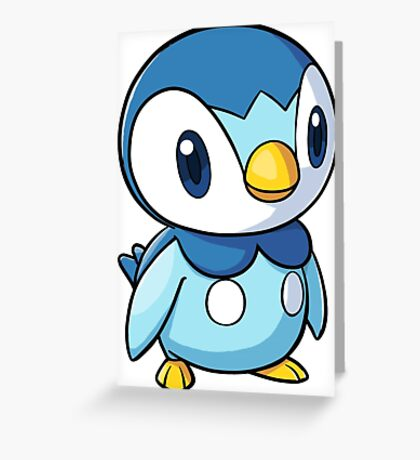 Piplup 2 Greeting Card