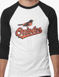 BALTIMORE ORIOLES Men's Baseball ¾ T-Shirt