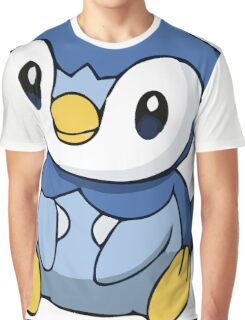 Piplup 3 Graphic T-Shirt