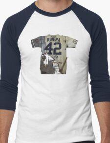 RIVERA THE LEGEND!!! Men's Baseball ¾ T-Shirt
