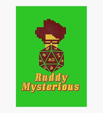 Ruddy Mysterious  Photographic Print