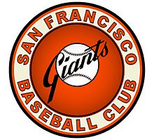 SAN FRANCISCO GIANTS BASEBALL Photographic Print