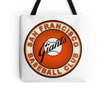 SAN FRANCISCO GIANTS BASEBALL Tote Bag