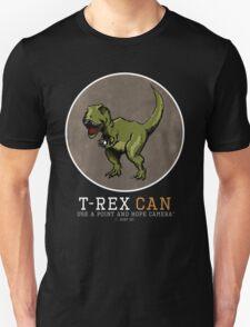 T-rex CAN... Unisex T-Shirt