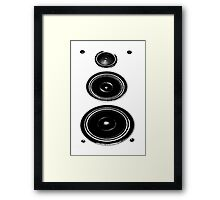 Speakerboxxxx II Framed Print