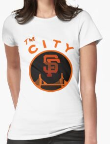 THE CITY SAN FRANCISCO Womens Fitted T-Shirt