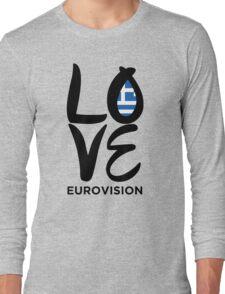 Love Eurovision [Greece] Long Sleeve T-Shirt