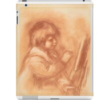 Auguste Renoir - The Artist's Son Claude or Coco 1906 iPad Case/Skin