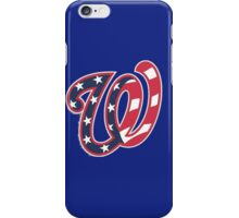 THE WASHINGTON NATIONALS iPhone Case/Skin