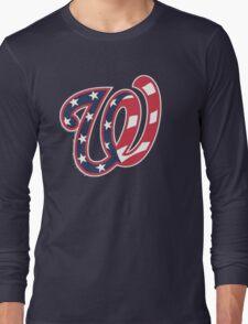 THE WASHINGTON NATIONALS Long Sleeve T-Shirt