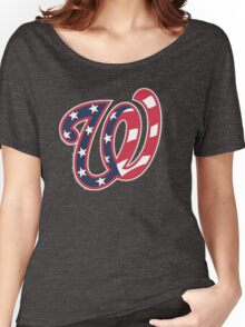 THE WASHINGTON NATIONALS Women's Relaxed Fit T-Shirt