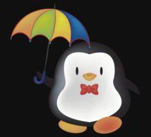 umbrella penguin Baby Tee