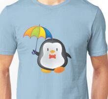 umbrella penguin Unisex T-Shirt