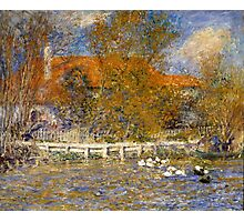 Auguste Renoir - The Duck Pond 1873 Landscape Photographic Print