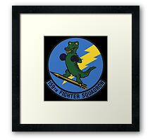 159th Fighter Squadron Emblem Framed Print