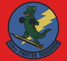 159th Fighter Squadron Emblem Kids Tee