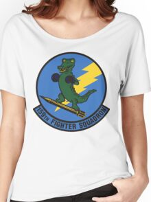 159th Fighter Squadron Emblem Women's Relaxed Fit T-Shirt