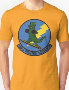 159th Fighter Squadron Emblem Unisex T-Shirt