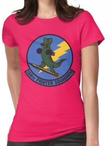 159th Fighter Squadron Emblem Womens Fitted T-Shirt