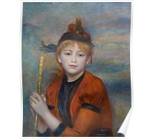 Auguste Renoir - The Excursionist  1888 Poster