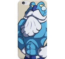 Frogadier Muscle iPhone Case/Skin
