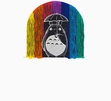 totoro rainbow rain Unisex T-Shirt