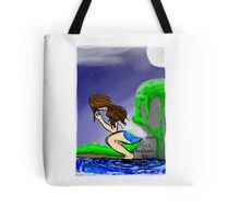 Moon Touch Tote Bag