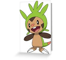 Chespin Normal Greeting Card