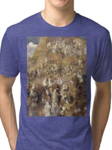 Auguste Renoir - The Mosque 1881 Impressionism Tri-blend T-Shirt