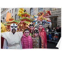Chinese New Year London Poster