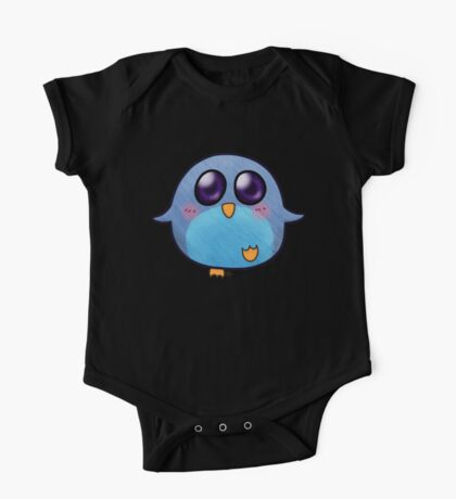 Chubby Penguin One Piece - Short Sleeve