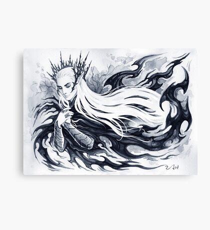 Spirit of forest Canvas Print