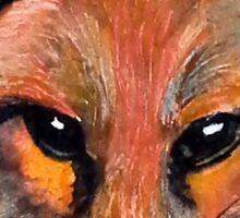Foxy Fox Sticker