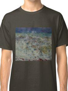 Auguste Renoir - The Wave 1882 Impressionism  Landscape Classic T-Shirt