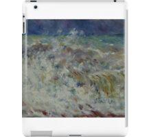 Auguste Renoir - The Wave 1882 Impressionism  Landscape iPad Case/Skin
