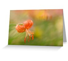 In Dreamland Greeting Card