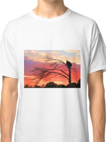 BALD EAGLE SUNSET Classic T-Shirt