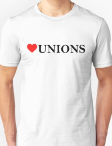 Love Unions Unisex T-Shirt