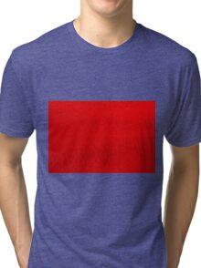 Yachats Oregon - Blood Orange Sand Design Tri-blend T-Shirt